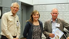 John Norris, Bethany Waters & Barry Collett with two newly discovered songs by Edward Elgar