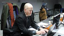 The Writer of The Sleeper in Studio
