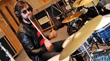 Drummer Jos Van Tol