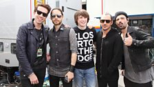 Grimmy with 30 Seconds to Mars and the lucky competition winner