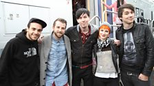 Dan & Phil backstage with Paramore