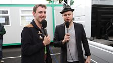Chris Stark and Olly Murs