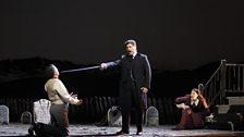 Reinaldo Macíás as Raffaele Di Leuthold, José Cura as Stiffelio & Sondra Radvanovsky as Lina