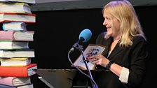 Miranda Richardson, who revealed and read our Gold 9 & Under winner