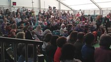Our fantastic audience