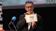Michael Palin, who revealed and read our Bronze 10-13 winner