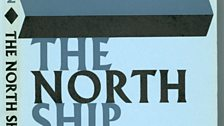 The original cover of Faber's 1966 reissue of Philip Larkin's collection of poems; The North Ship