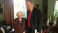 P. D. James with Mark Lawson