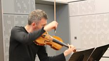 Violinist David Le Page
