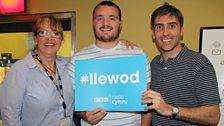 Caryl, Ken Owens a Dafydd
