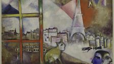 Paris Through the Window 1913 by Marc Chagall
