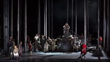 Production image from La Donna Del Lago