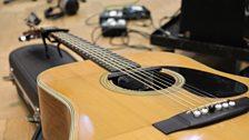 Alasdair Roberts' guitar
