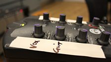 One of the Headphone Mixers in the Late Junction Studio