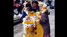 Sir Terry goes fundraising in 1988