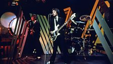 The Jam performing on Top of the Pops in 1970