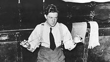 George Lloyd conducting his opera Iernin