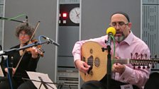 Los Desterrados in session for World Routes