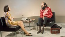 Joan Bakewell interviewing Allen Ginsberg for Late Night Line Up, 1967