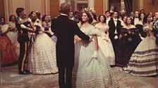 The classic ballroom scene with Claudia Cardinale and Burt Lancaster, in The Leopard (1963)