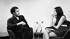 Harold Pinter joins Joan Bakewell for Late Night Line-up, 1969