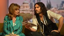 Helena Kennedy and Russell Brand review the papers