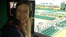 Wimbledon 2013: Inside Court 18 commentary box