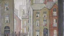 L. S. Lowry, Hawker's Cart, 1929