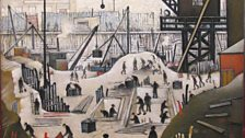 L. S. Lowry, Excavating in Manchester, 1932