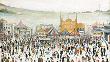L. S. Lowry, Fun Fair at Daisy Nook, 1953
