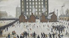 L. S. Lowry, Saturday Afternoon, 1941