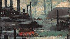 L. S. Lowry, Industrial Landscape, Wigan, 1925