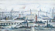 L. S. Lowry, Industrial Landscape, 1955