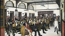 L. S. Lowry, Ancoats Hospital Outpatients' Hall, 1952