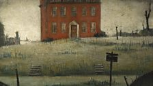 L.S. Lowry, The Empty House, 1934