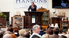Charles Hanson on the rostrum