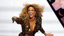 Beyonce at Glastonbury 2011
