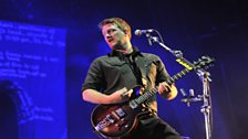 Queens Of The Stone Age at Glastonbury 2011