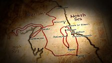The route of the Gospels