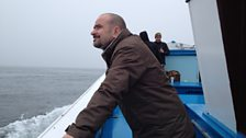 Filming on the Farnes