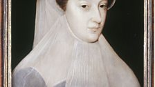 Mary Queen of Scots in white mourning