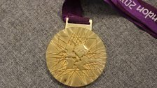 Anna Watkins' Gold Medal from the 2012 London Olympics