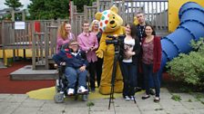 Pudsey and young film-makers from Sea Change