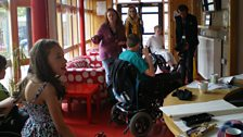 Young film-makers from Whizz Kidz