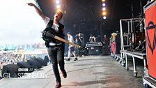 Enter Shikari at Glastonbury 2013