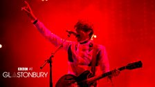 Miles Kane at Glastonbury 2013