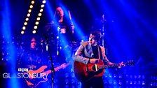 Arctic Monkeys at Glastonbury 2013