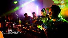Rudimental at Glastonbury 2013