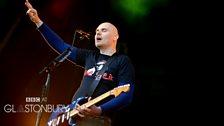 The Smashing Pumpkins at Glastonbury 2013