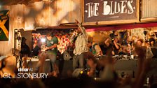 Saturday Night in The Gully - Glastonbury 2013